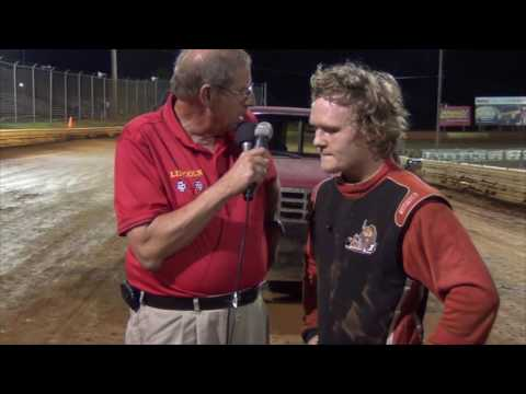 Lincoln Speedway 358 Sprint Car Victory Lane 8-13-16
