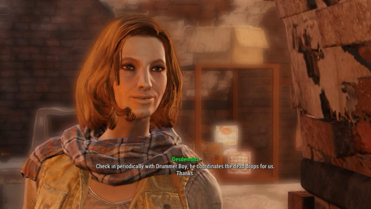 Download Randolph Safehouse. Fallout 4 story. The Railroad