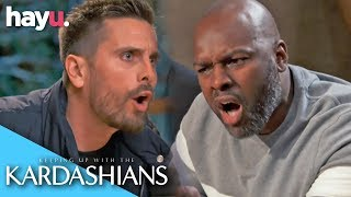 Scott Rages At Corey For Suggesting Smacking Penelope | Season 17 | Keeping Up With The Kardashians