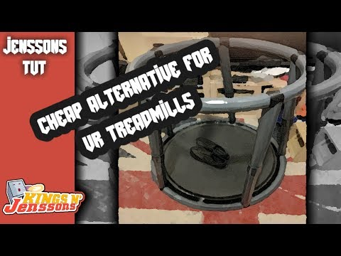 Cheap Alternative for a VR treadmill for under £15 | Jenssons TUT