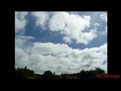 Darwin Australia: HAARP Wave Clouds Time Laps. December 22 2011