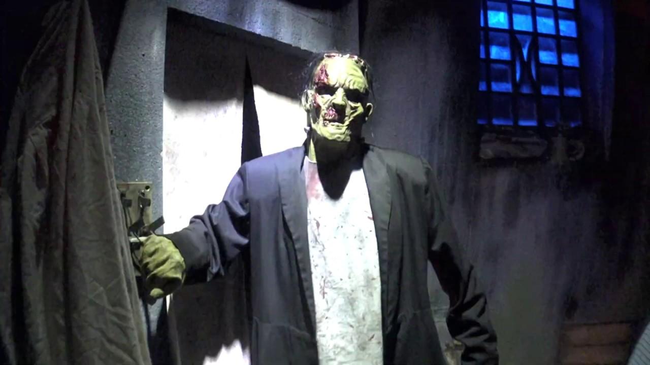 4k Universal Monsters Haunted House At Universal Orlando S Halloween Horror Nights 2019 Youtube