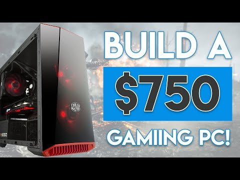 BUILD AN INSANE $750 GAMING PC BUILD 2017! [1080p Ultra - 60FPS!]