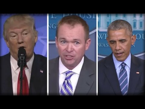 BREAKING: TRUMP JUST CAUGHT OBAMA RED HANDED!!! TRUMP'S BUDGET CHIEF DROPS BOMBSHELL!!!