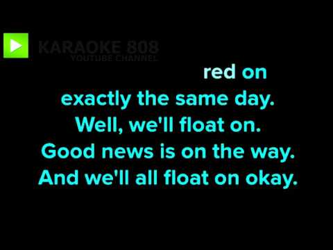 Float On ~ Modest Mouse Karaoke Version ~ Karaoke 808