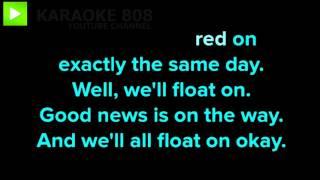 Float On ~ Modest Mouse Karaoke Version ~ Karaoke 808