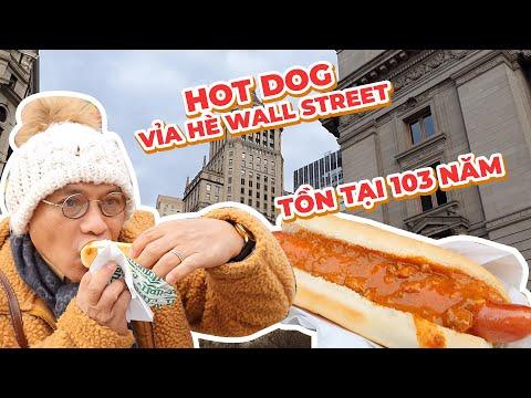 Food For Good #601: Xe hotdog vỉa hè Wall Street 103 năm ngon nhức nhối