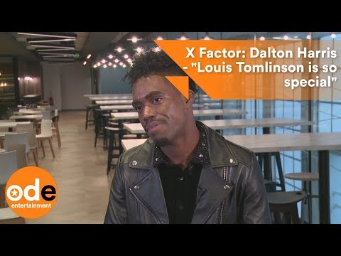 "X Factor: Dalton Harris - ""Louis Tomlinson is so special"""