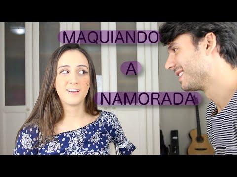 NAMORADO MAQUIANDO