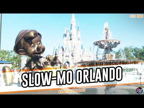 Universal Orlando Resort & Walt Disney World Resort In Slow Motion | Florida Vlogs | February 2018