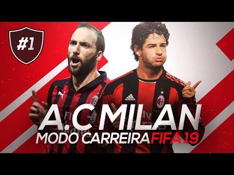 PATO VOLTOU PRO MILAN! O INÍCIO | FIFA 19 MODO CARREIRA #01