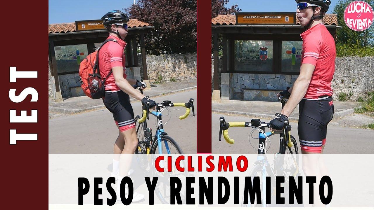 Perdida de peso y ciclismo