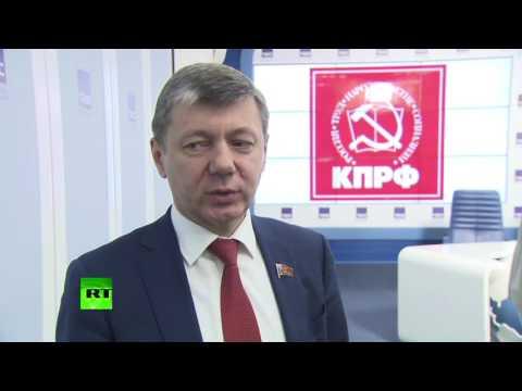 «Единая Россия», КПРФ и ЛДПР прокомментировали итоги выборов в эксклюзивном интервью RT