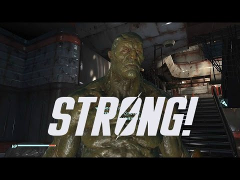 Fallout 4 Companion Guide | Recruiting STRONG The Super Mutant!