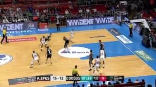 Anadolu Efes - Darüşşafaka Doğuş Yarı Final 1. Maç Asistler