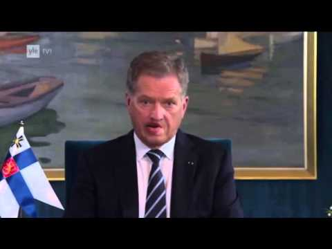 Sauli Niinistö - Finland President Man Is Disappoint