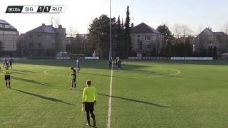 ZÁZNAM   SK Sigma Olomouc - MFK Ružomberok