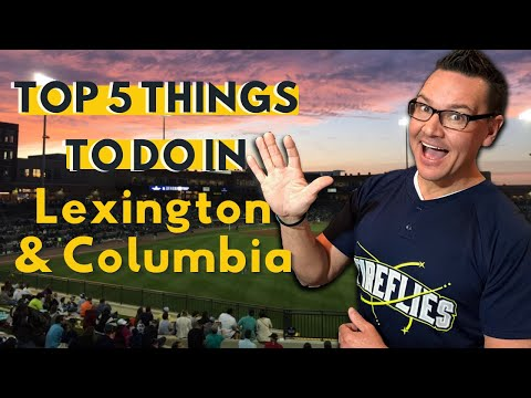 THINGS TO DO IN COLUMBIA, SOUTH CAROLINA AND LEXINGTON, SC - MY TOP 5!!