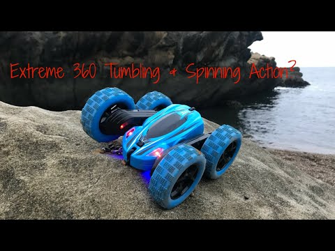 Wow Rc Stunt Car 360 Degree Tumbling And Spinning Action