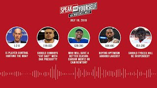 SPEAK FOR YOURSELF Audio Podcast (7.10.19) with Marcellus Wiley, Jason Whitlock | SPEAK FOR YOURSELF