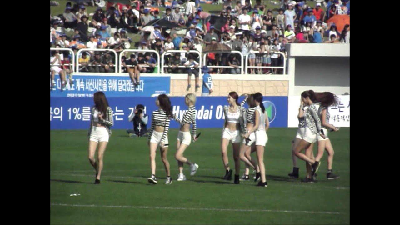 130615 나인뮤지스 (Nine Muses) - K리그 자선경기 축하공연 서산종합운동장 (Dolls)
