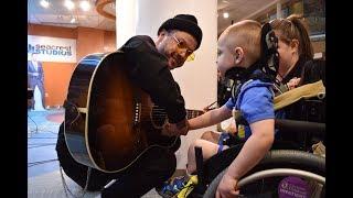 lovelytheband visits Seacrest Studios at Cincinnati Children's Hospital Video