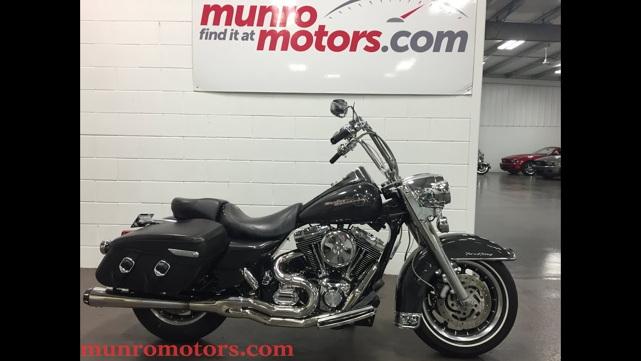 2006 Harley Davidson Road King Sold Munro Motors Youtube