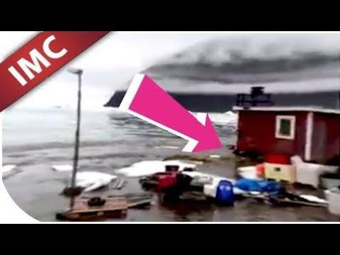 OMG! Tsunami Hits Greenland June 18th 2017 Raw Footage