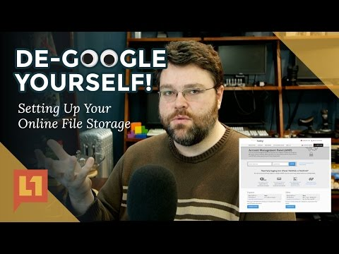 De-Google Yourself with NextCloud (also CPanel Intro)