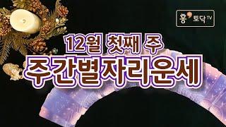 [홍테라타로/12월첫째주주간별자리운세] 11월 30일 ~12월6일  12월 첫째주 주간별자리 운세 타로