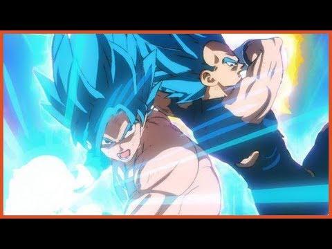 Broly vs Goku Blue & Vegeta Blue - YouTube