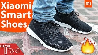 Xiaomi Mijia Smart Shoes Review in HINDI - Best Sports Shoes 2019?