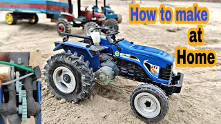 How to make ACE tractor model at Home by Mr.pendu jatt