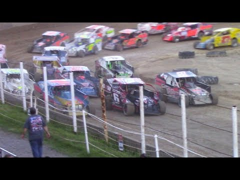 BRP Big Block Modified Feature | Old Bradford Speedway | 6-11-17