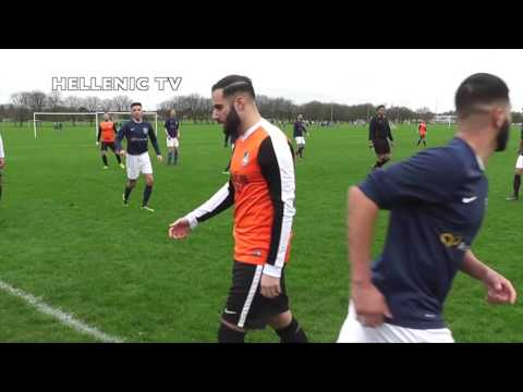 APOEL F.C. vs PANTEL F.C. 19.3.17 Enfield Playing Fields