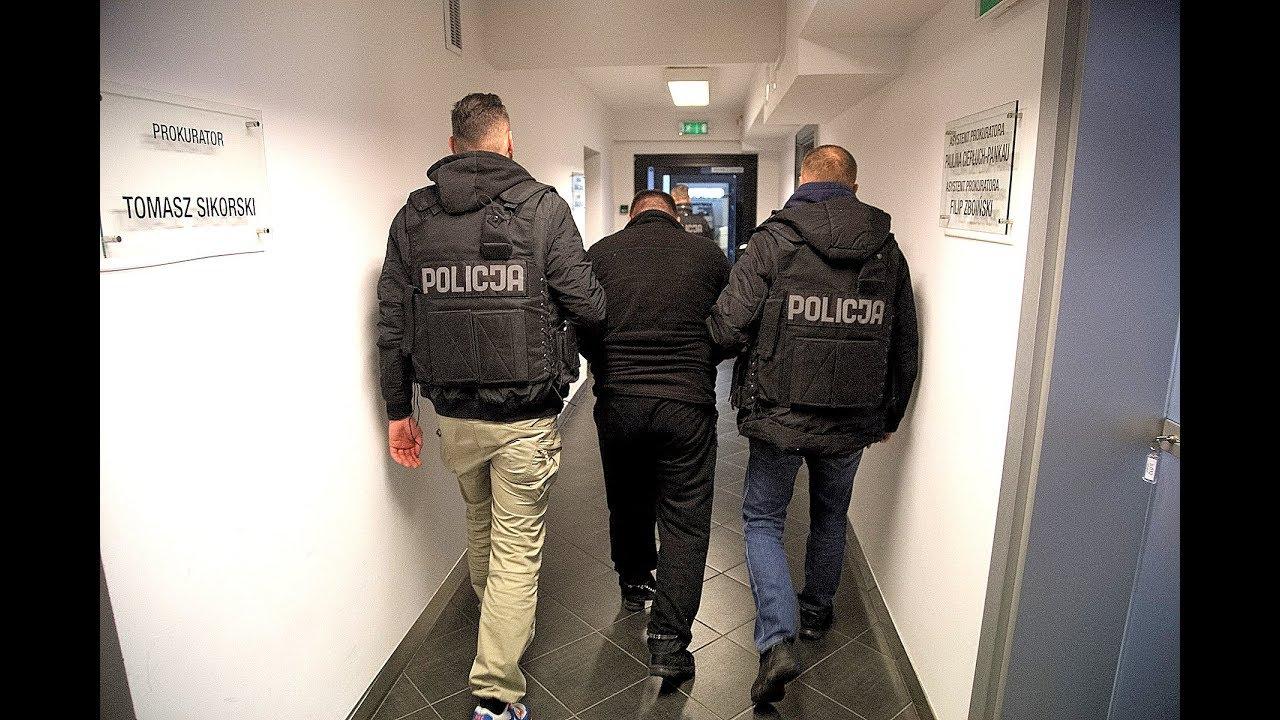 Mieszkańcy Grudziądza zatrzymani przez oddział antyterrorystyczy KWP w Bydgoszczy