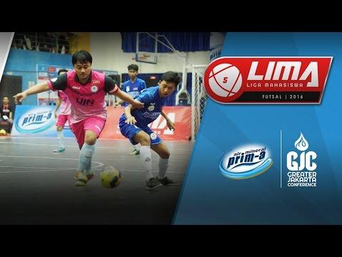 Final LIMA Futsal Air Mineral Prim-A GJC Season 4: UBL vs UIN Jakarta (Men's)