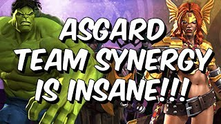 Asgard Team Synergy is INSANE - Immortal Asgardians - Marvel Contest Of Champions