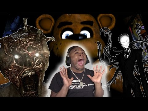 BHD Highlights #3 - Worst JUMPSCARES/funny Moments Compilation feat Five Nights At Freddy's