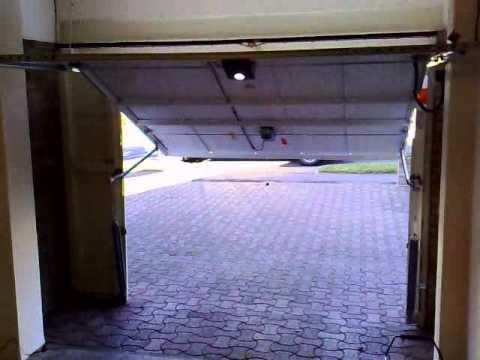 novoferm guilsborough vivoport motor operated garage door internal view youtube. Black Bedroom Furniture Sets. Home Design Ideas