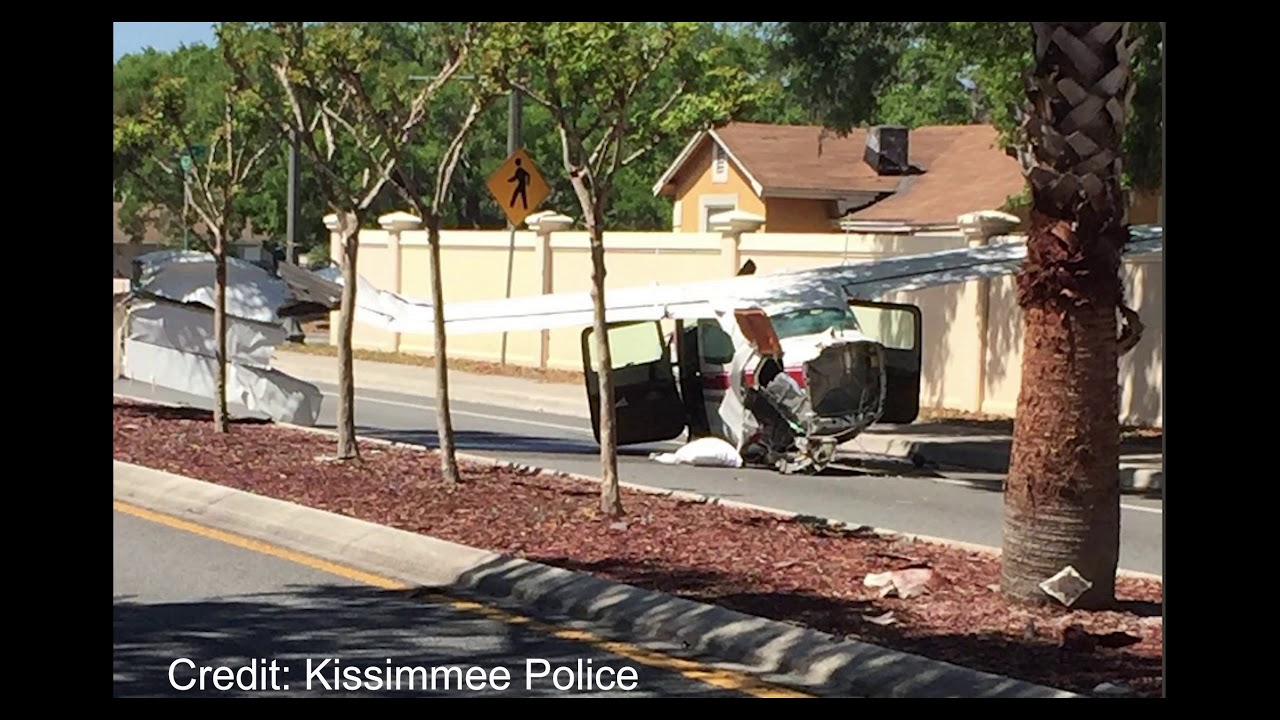 Kissimmee C210 Crash Landing Video