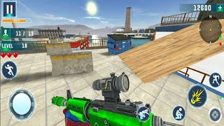 Robot Counter Terrorist Game – Fps Shooting Games Android GamePlay -  FPS Shooting Games Android #5