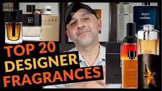 Top 20 Designer Fragrances + Colognes | My Favorite Designer Fragrances 2018
