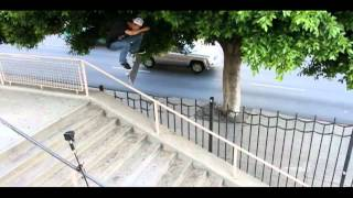 Ryan Decenzo - Frontside Flip over Hollywood High 16's Fence!