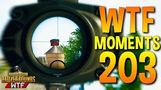 PUBG Daily Funny WTF Moments Highlights Ep 203 (playerunknown's battlegrounds Plays)
