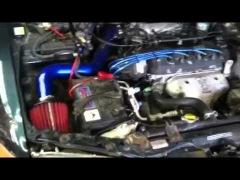 1996 Honda Civic Ex Engine Diagram Honda Accord 1994 Ex Intake Youtube