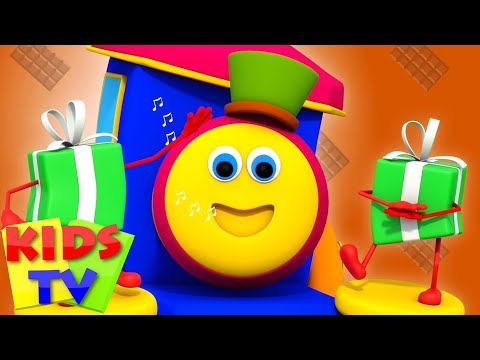 Bob The Train | Food Song | Original Songs By Kids TV | Bob Cartoons