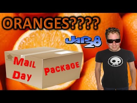 Mail Call from JAP28 - ORANGE Package UNBOXING?????