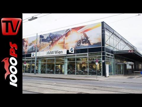 BMW Motorrad Wien neu   Interview mit Alexander Polster   Eröffnung 12.März 2016