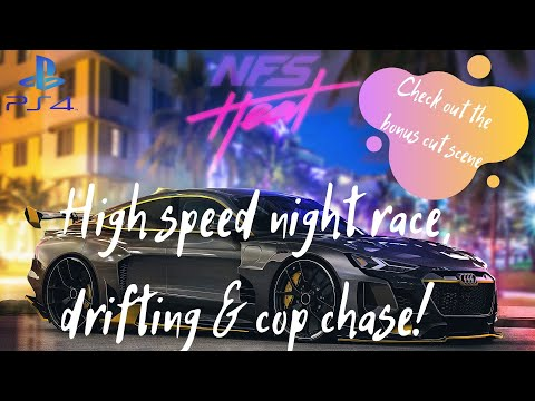 Need For Speed Heat Gameplay with in-game Cutscene 2020 | Nissan 180SX | PS4 Games